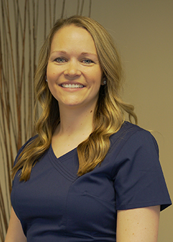 Patient care and insurance coordinator Ashley