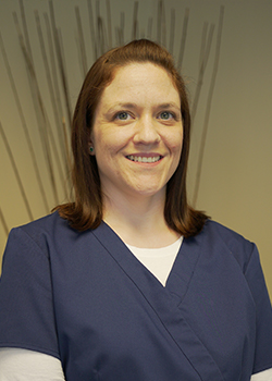 Registered dental hygienist Christina
