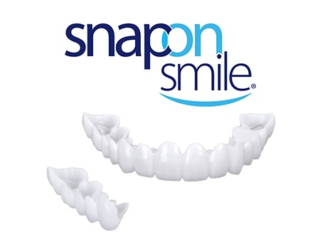 Snap on smile model